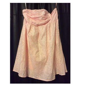 New~ Torrid Pink Halter Summer Dress size. 14